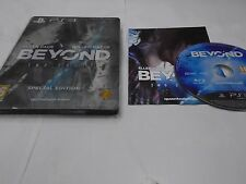 ps3 BEYOND TWO SOULS Special Edition Steelbook Edition PAL UK REGION FREE