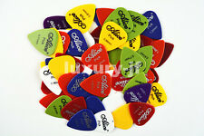Lots of 100pcs ALICE Guitar Picks Plectrums Thickness&Colors Assorted