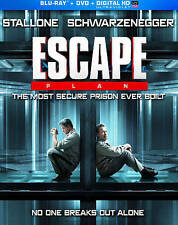 Escape Plan Blu-ray/DVD & DIGITAL HD 2014, 2-Disc Set STALLONE SCHWARZENEGGER