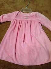 Soup Girl 3 Month Pink Velour Dress With One Piece Underneath