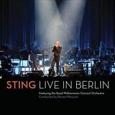 Live in Berlin Sting CD + DVD Digipack Sealed ! New !