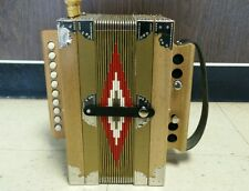Cajun / Zydeco Accordion in Key of C from Mouton's Accordions in Louisiana