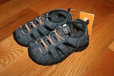 NWT Gymboree Surf Wagon Size 13 Gray Strappy Trail Sandals Shoes