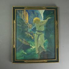Antique Maxfield Parrish Canyon Print