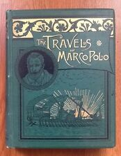 Travels of Marco Polo For Boys And Girls by Knox Illustrated Old Book 1885