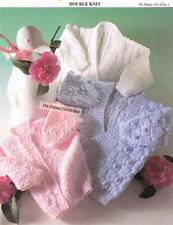 BABY CARDIGANS 3 styles 8ply or DK / sizes 41cm to 56cm - COPY knitting pattern