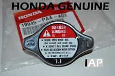 Honda Accord Civic CRV Pilot Odyssey Radiator Cap NEW GENUINE 19045-PAA-A01