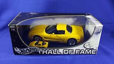 HOT WHEELS HALL OF FAME SPECIAL 2 VETTE SET 1:18 (SCALE) + (1:64) NEW