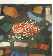 DAVID ROSE and his orchestra - WHISTLE BAIT - HOW THE WEST WAS WON