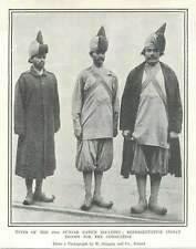 1902 Types Of The 20th Punjab Native Infantry
