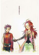 Tales of Symphonia doujinshi Lloyd + x Zelos You Will Be Reborn Amongst the Flow