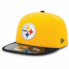 Pittsburgh Steelers New Era 59 Fifty Fitted hat - size 7 3/8  nwt Free Shipping