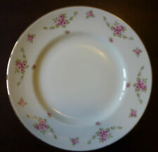 Royal Osborne Princess White Mist Dinner Plate Dainty Pink Roses several avail