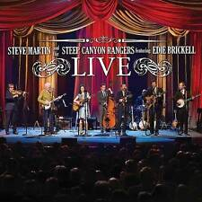Steve Martin & The Steep Canyon Rangers wEdie Brickell-Brand New Blu-Ray & CD!