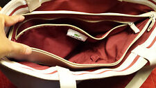 Lacoste Summer Sand Handbag Purse Tote Shoulder Bag
