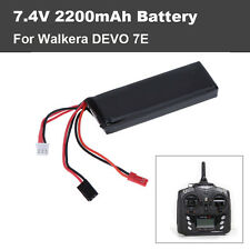 New 7.4V 2200mAh Lipo Battery for Walkera DEVO 7E Transmitter Free Shipping
