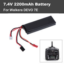 Original 7.4V 2200mAh Lipo Battery for Walkera DEVO 7E Transmitter Remote