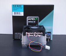 AMD Athlon II X4 Cooler Heatsink Fan for 600e 605e 610e 615e 620e Skt AM3 - New