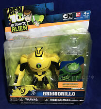 "New ARMODRILLO 4"" Ben 10 Action Figure with Ultimatrix Disc - ULTIMATE ALIEN"