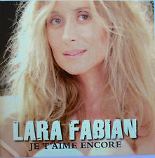 "LARA FABIAN - RARE CD SINGLE PROMO ""JE T'AIME ENCORE"""