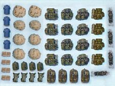 Black Dog 1/72 US Modern Soldier's Equipment Accessories Set No.1 [Resin] T72009