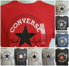 Converse Chuck Taylor All Star Short Sleeve Crew Neck T Shirt,XS,S,M,L,XL,2XL