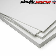 3mm A4 210mm x 297mm Matt White Rigid Foam PVC sheet Foamex