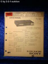 Sony Service Manual ST V50L / V70L  Tuner (#0600)