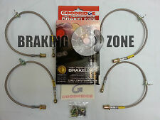 20111 Goodridge Stainless Steel Brake Line Kit  2000-2005 Honda S2000