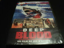 "DVD NEUF ""DEEP BLOOD"" film d'horreur de Joe D'AMATO / Francais - English"