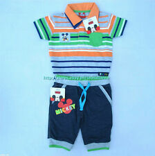 40% OFF!LICENSED DISNEY MICKEY MOUSE SHIRT JOGGER PANTS SET 18 MOS BNWT US$18.99