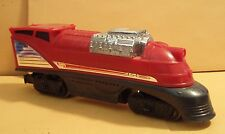 HOT WHEELS TRAIN LOCOMOTIVE ENGINE RAIL ROAD HO SCALE COMPLETE
