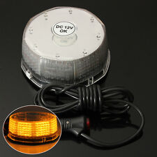12V 240 LED Beacon Flashing Emergency Warning Strobe Light CAR TRUCK SUV Amber