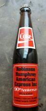 Robison Humphrey American express tall 10  coke bottle