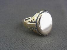 schöner alter Siegel Ring 800/-Silber ca.um 1910