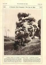 1916 Somme Front Smoke-bomb Bursts