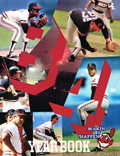 1984 Cleveland Indians MLB Baseball YEARBOOK