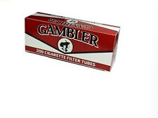 Gambler Regular King Size RYO Cigarette Tubes - 15Box-3000 Tubes