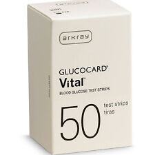 Arkray GlucoCard Vital Blood Glucose Test Strips 50 pack