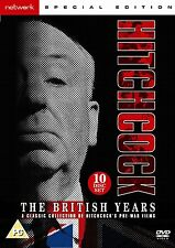 Alfred Hitchcock - The British Years ---- 10-Disc DVD Boxset