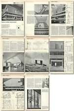 1961 Wolfson Institute, Hammersmith Design, Plans