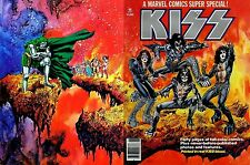 KISS - Marvel Comics Super Special #1 1977, Marvel - Printed in real KISS blood!