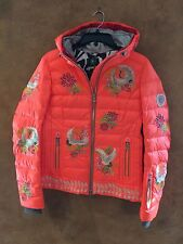 Bogner Women's Ava-D Ski Jacket, Mexican Orange, Size 6