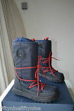 NEW AUTHENTIC LADIES  TOMMY HILFIGER SNOW WINTER WEBBER BOOTS 3 / 3.5