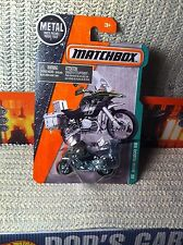 Matchbox 2016 BMW R1200 Miltary Police Motorcycle Olive Green MOC Explorers #120
