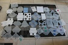 39 Assorted Card Making Envelope Plastic Template Lot Papercraft