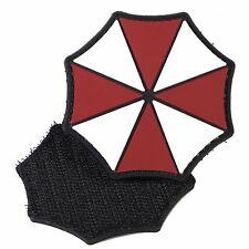 PVC Morale Patch Umbrella Corp Logo 3D Badge Hook #17 Paintabll Airsoft