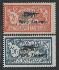 "FRANCE POSTE AERIENNE 1/2 "" MERSON 2F+5F SALON AVIATION 1927 "" NEUFS xx TB K781"
