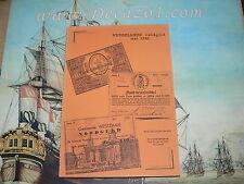 Catalogus Nederlands noodgeld mei 1940 in het Belastingmuseum Rotterdam.