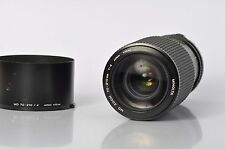 Minolta MD 70-210mm F4 | Manual Focus Telephoto Zoom Lens | Includes Hood |